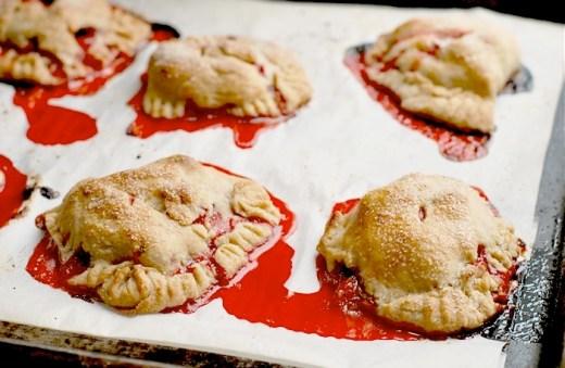 strawberry hand pies