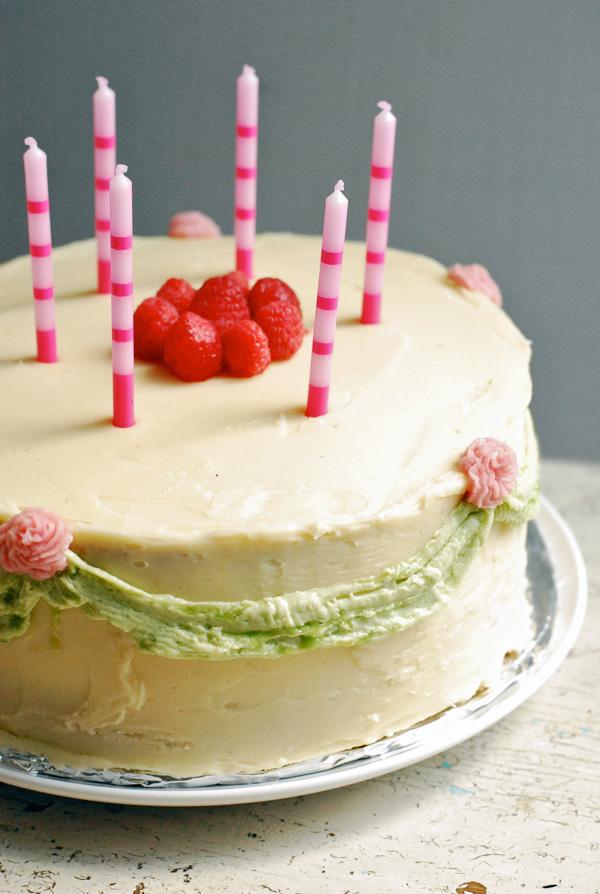 pink raspberry cake // brooklyn supper