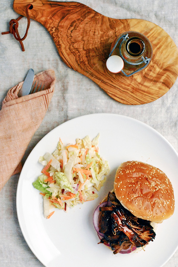 smoked pork shoulder // brooklyn supper