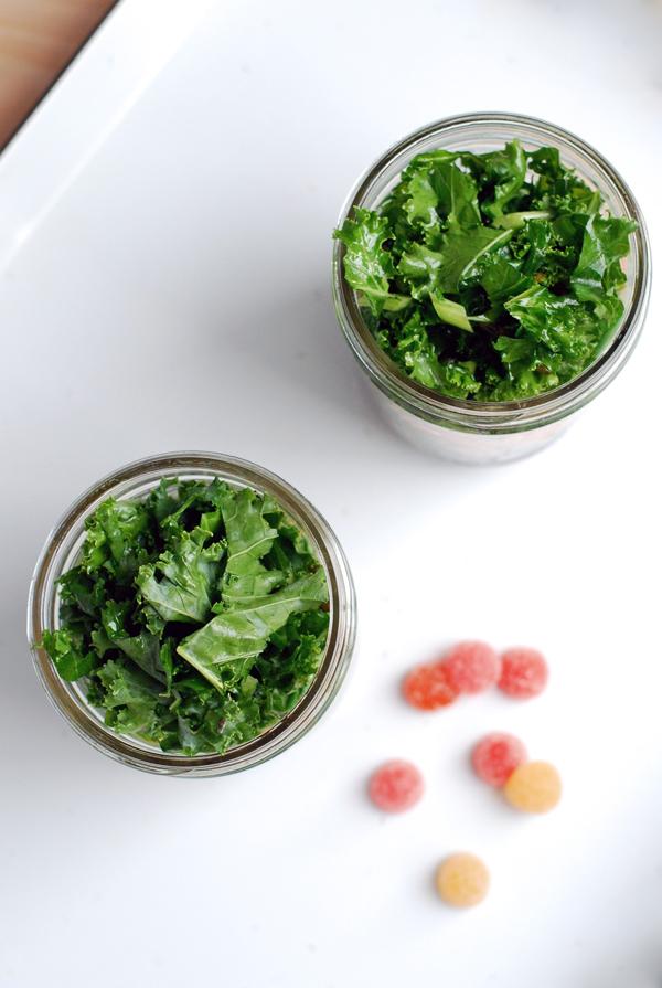 layered salad in a jar // brooklyn supper