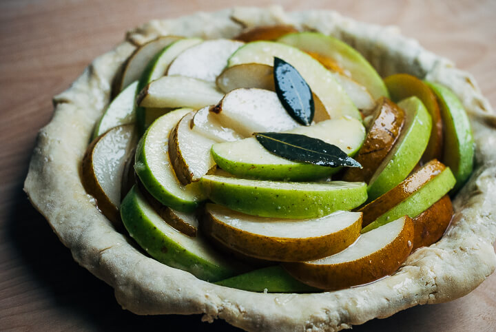 asian pear and apple pie // brooklyn supper