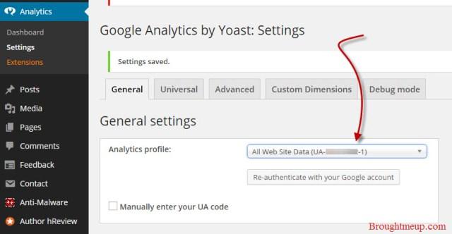 google-analytics-for-wordpress-settings