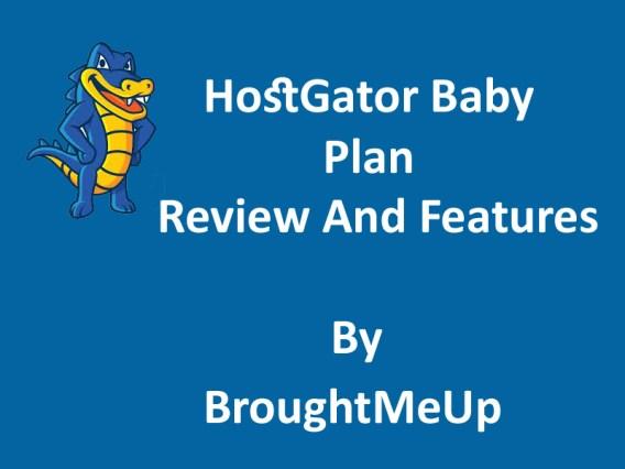 Hostgator baby plan review