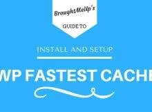 setup wp fastest cache plugin