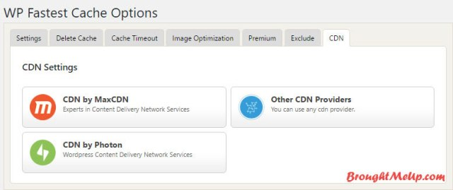 integrate CDN With WP Fastest Cache