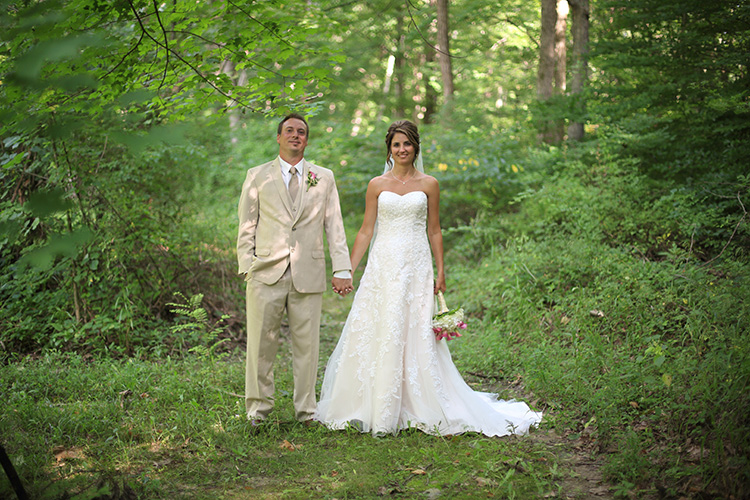 Brown County Weddings Outdoor Gazebo wedding July