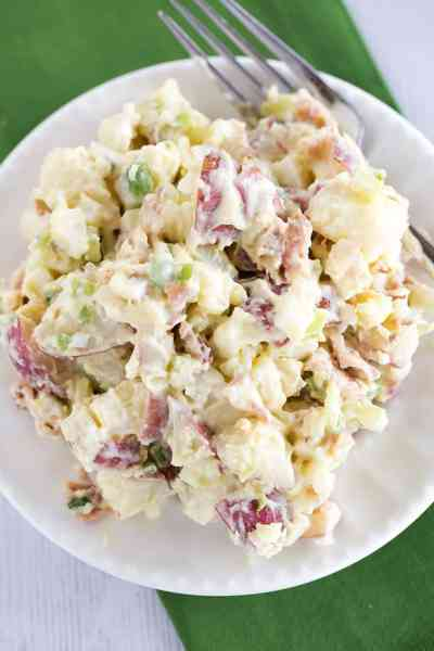 Best Ever Potato Salad Recipe | Brown Eyed Baker