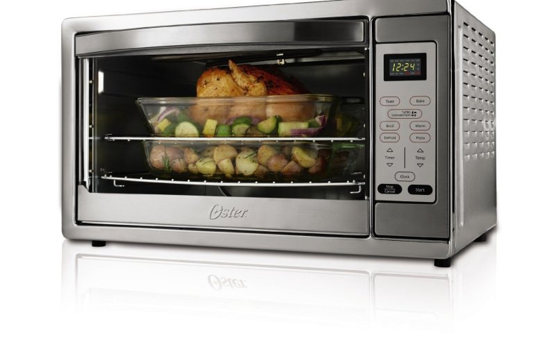 Countertop Convection Ovens Pros And Cons : Oster TSSTTVDGXL-SHP Toaster Oven Review browngoodstalk.com