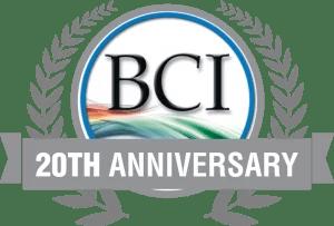 Bruce Clay, Inc. 20th anniversary logo