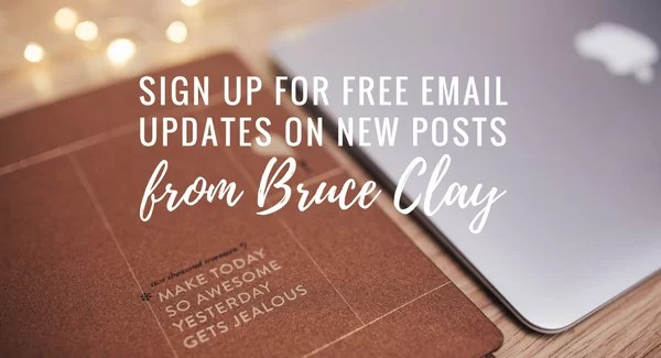 blog post updates from bruce