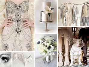 Sølv bryllupstema