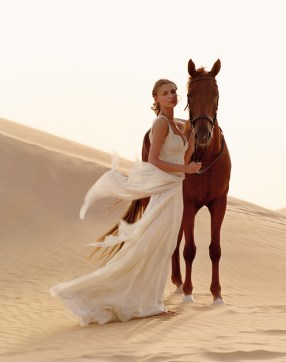 bohem brudekjole