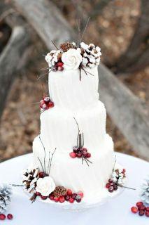 vinterbryllup-inspirasjon-bryllupskake