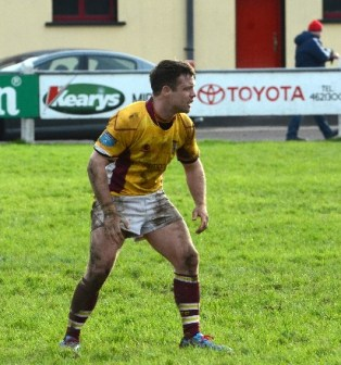 John Hogan who was a try scorer at the weekend