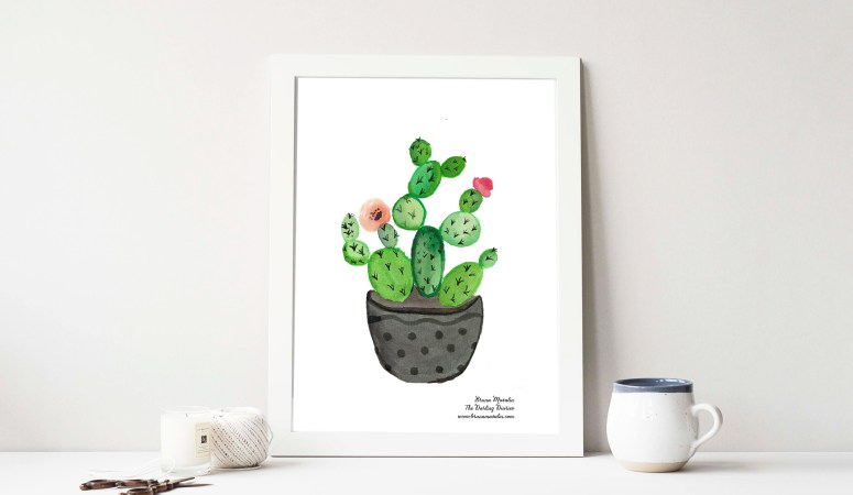 FREE WATERCOLOR PRINT