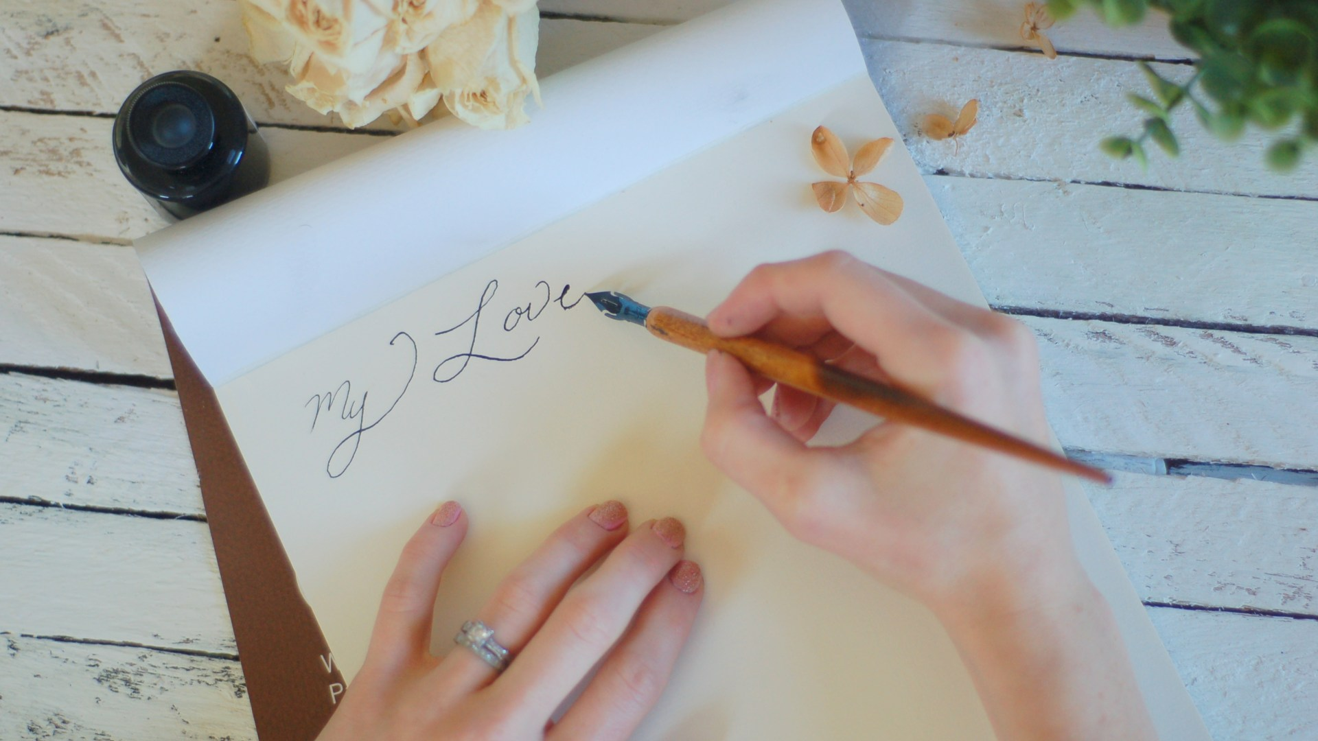 Love Letters { A Lost Art }