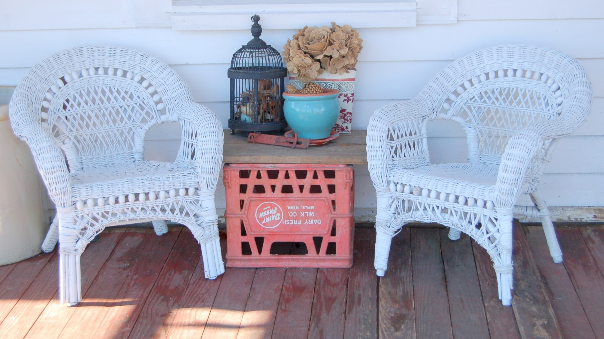 The Farmhouse Exterior { Porch Progress }