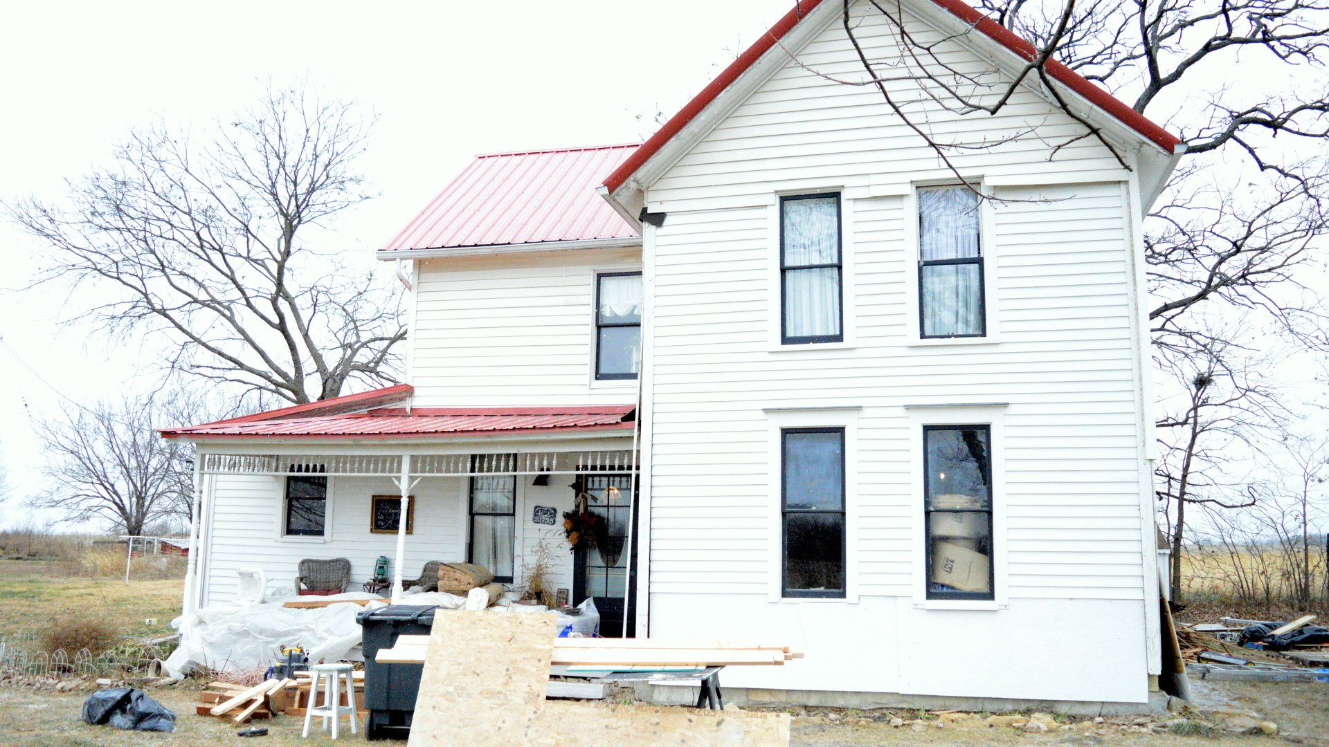 Farmhouse Restoration ~ Structural Repairs & Openings