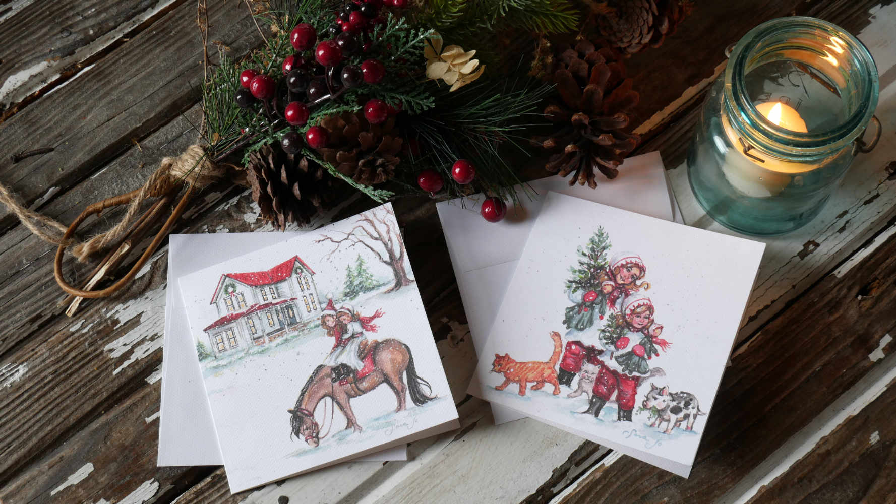 Bryarton Farm | Bryarton Farm Christmas Cards