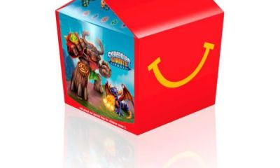 Skylanders Happy Meal Box 2