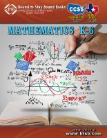 Common Core Mathematics K-6