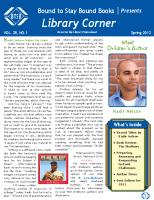 Library Corner – Spring 2012