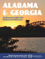 Alabama and Georgia