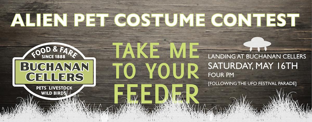 2015 Alien Pet Costume Contest