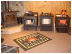 Buckeye Stoves showroom