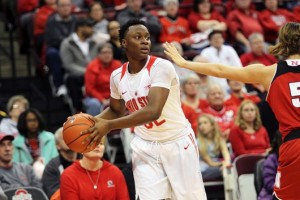 Shayla Cooper provides spark from off the bench for Ohio State women's basketball
