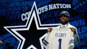 Ezekiel Elliott's First NFL Practice Left the Cowboys Rookie RB 'Shell-Shocked'