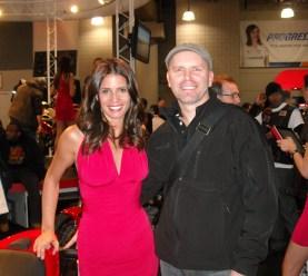 Renee Thompson (Ducati) and Bud