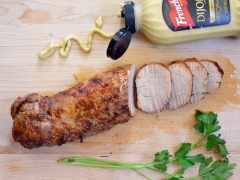 Soy Dijon Pork Tenderoil