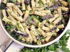 Easy Portabella Pasta