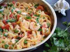 Spicy Shrimp & Tomato Pasta