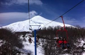 Pucón: um dos melhores lugares para esquiar no Chile