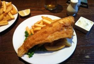 Os 10 melhores fish and chips de Londres