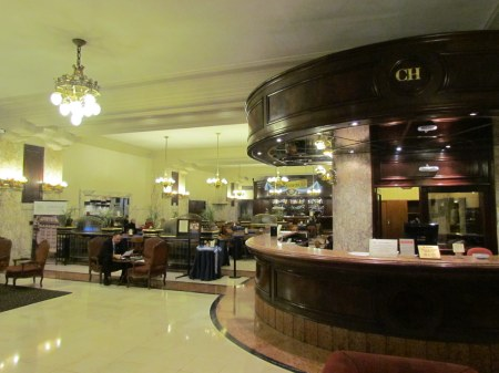 Confiteria del Hotel Castelar seen from reception