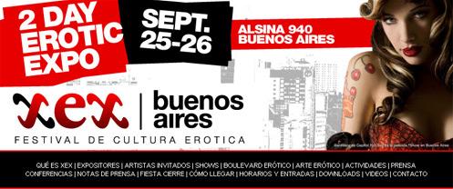 XEX Festival de Cultura Erótica de Buenos Aires