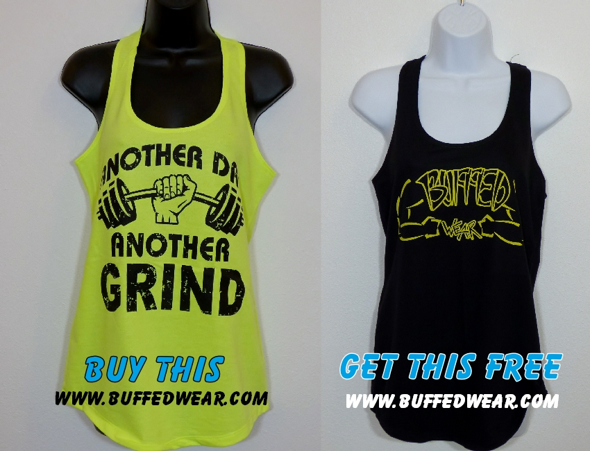 Another Day Another Grind-BuffedWear-with-arms-women