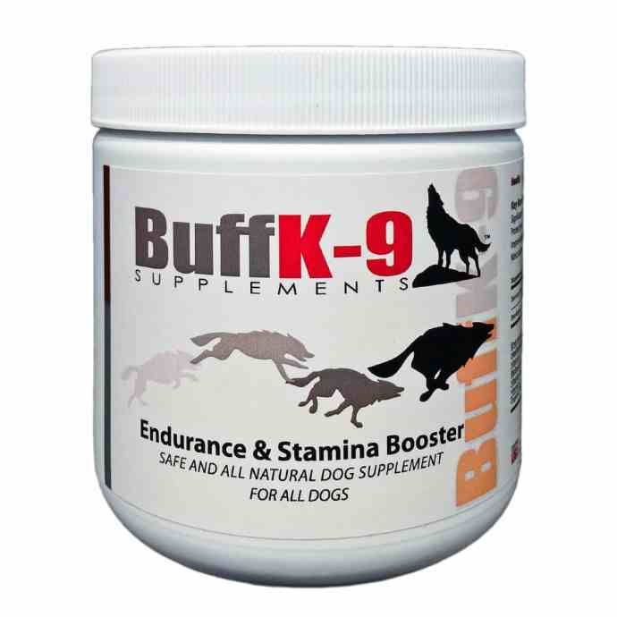 dog endurance supplements hunting dogs vitamin supplement buffk9