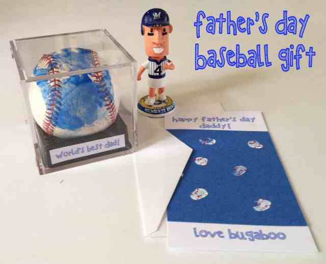 Fathers Day Baseball gift