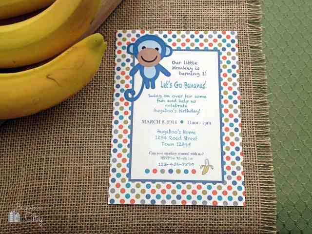 Monkey Themed Party
