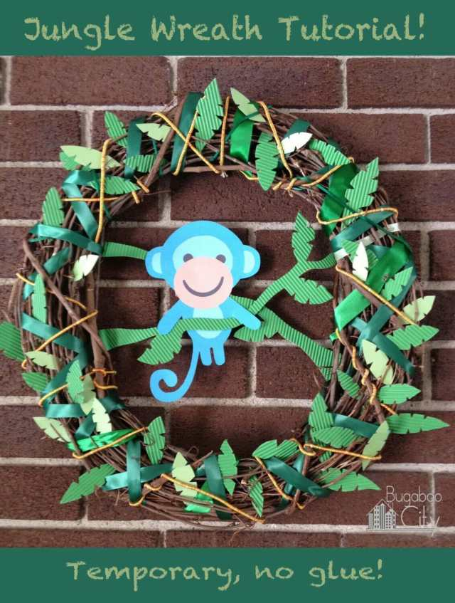 Jungle Wreath Tutorial!