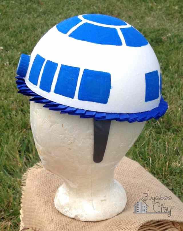 DIY R2-D2 Hat