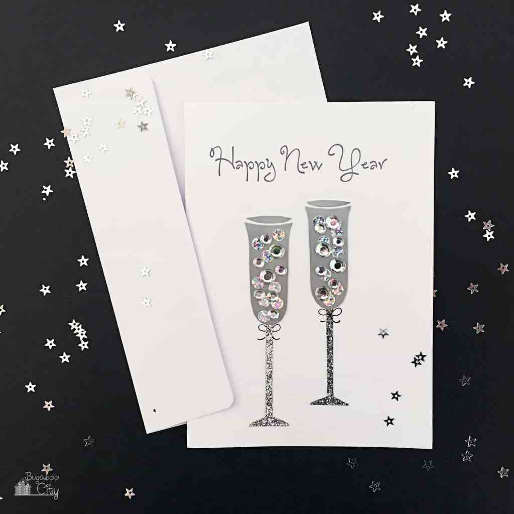 DIY New Years Eve Card