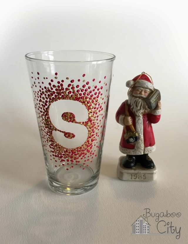 Santa's Glass of Milk