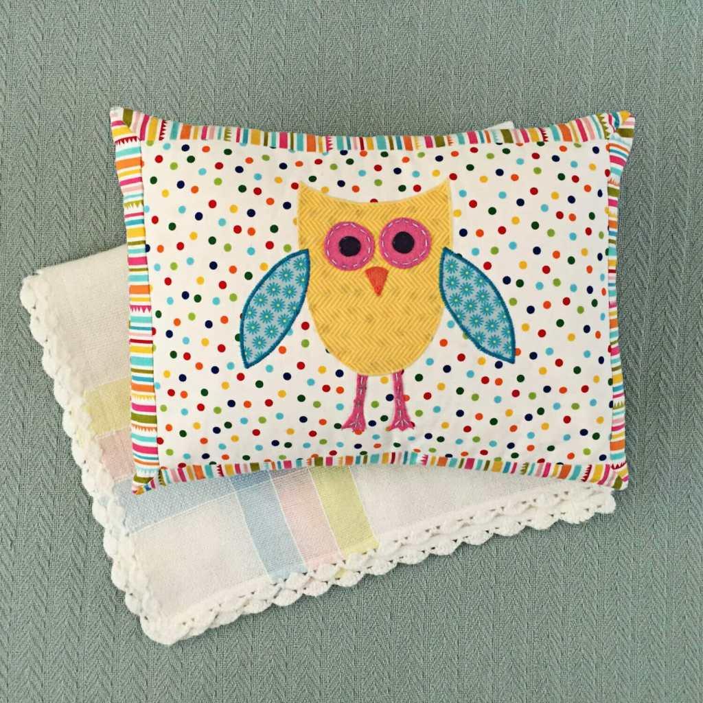 owl nursery pillow