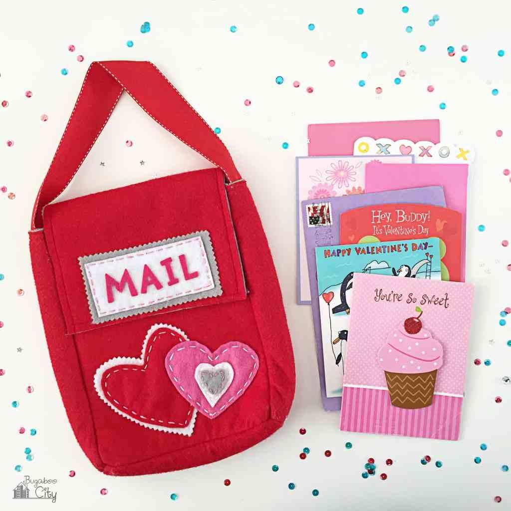 Valentine's Day DIY Felt Mailbox 2