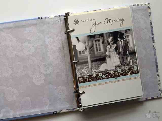 DIY Wedding Card Book - Perfect way to save cards from your wedding! DIY Tutorial!